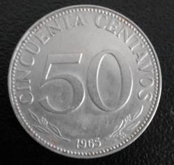 Imaginea #1 a 50 Centavos 1965