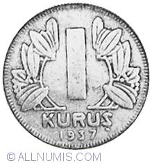 Image #2 of 1 Kurus 1937