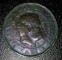 Imaginea #2 a 10 Reis 1891