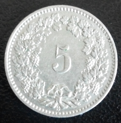 Image #1 of 5 Rappen 1890