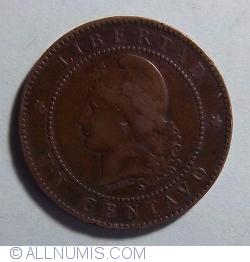 Image #1 of 1 Centavo 1883