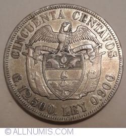 Imaginea #1 a 50 Centavos 1917