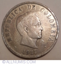 Imaginea #2 a 50 Centavos 1917