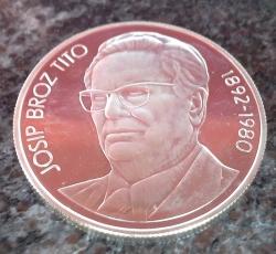 Image #1 of 1000 Dinara 1980 - Josip Broz Tito (proof)