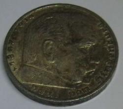 Image #2 of 5 Reichsmark 1936 F - Paul von Hindenburg