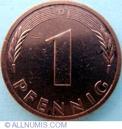 Image #1 of 1 Pfennig 1980 D