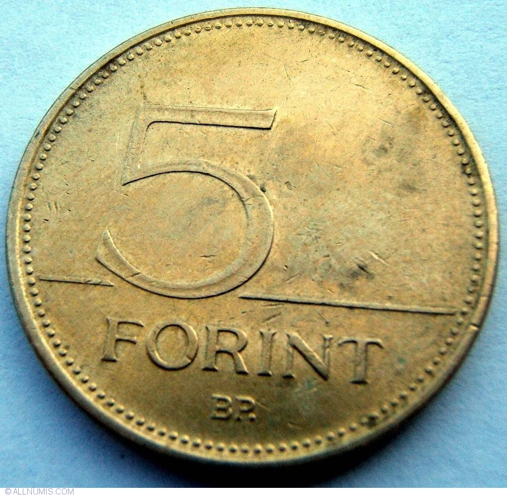 1 Forint Coin Value March 2020