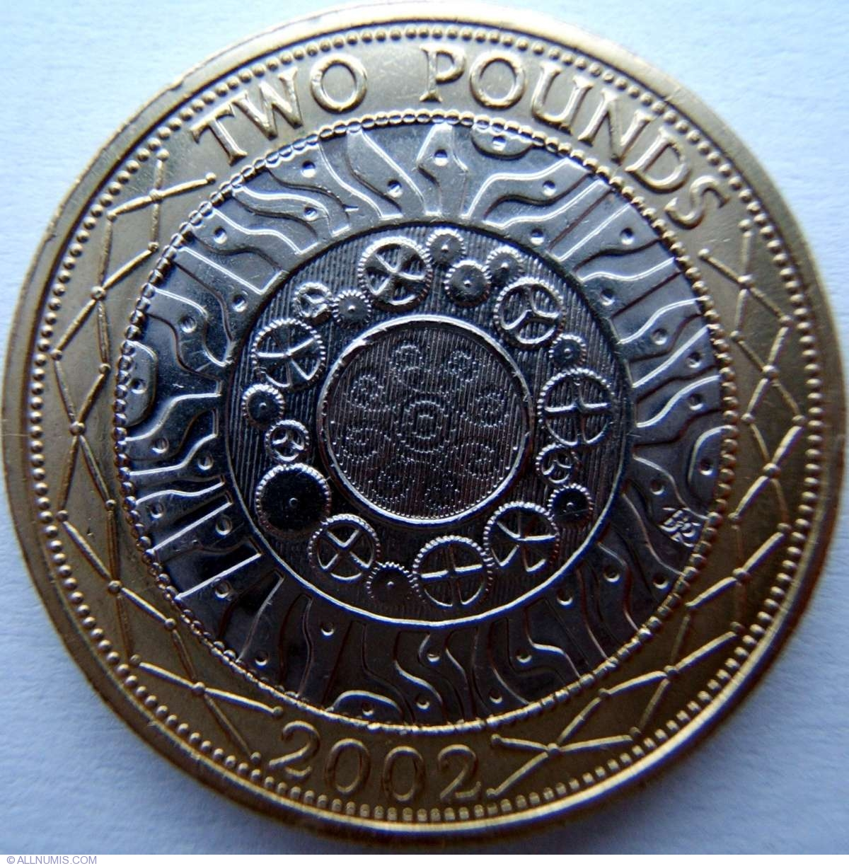 Coin Of 2 Pounds 2002 Technology From Great Britain Id