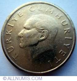 25000 Lira 1998