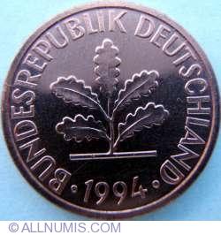 Image #2 of 1 Pfennig 1994 D