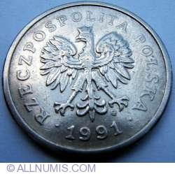 Image #2 of 1 Zloty 1991