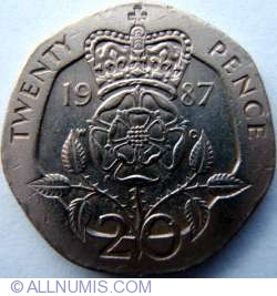 Image #1 of 20 Pence 1987