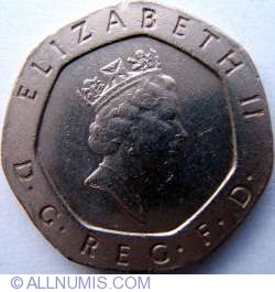 Image #2 of 20 Pence 1987