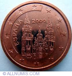 Image #2 of 2 Euro Cent 2000