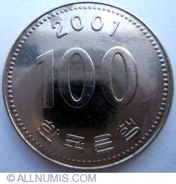 Image #1 of 100 Won 2001