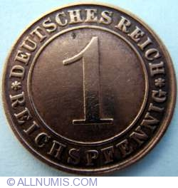Image #1 of 1 Reichspfennig 1924 G