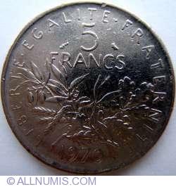 5 Francs 1970