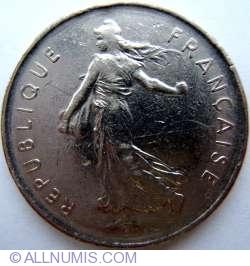 Image #2 of 5 Francs 1970
