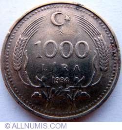 Image #1 of 1000 Lira 1994