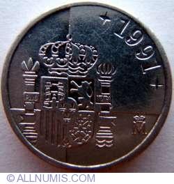 Image #2 of 1 Peseta 1991