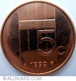 Image #1 of 5 Cents 1999