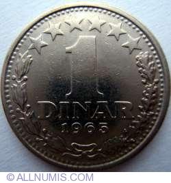 Image #1 of 1 Dinar 1965