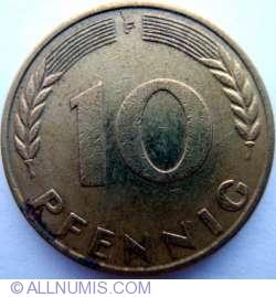 Image #1 of 10 Pfennig 1970 F