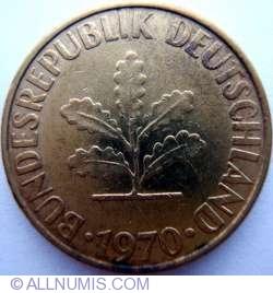 Image #2 of 10 Pfennig 1970 F