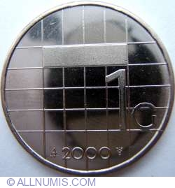 Image #1 of 1 Gulden 2000