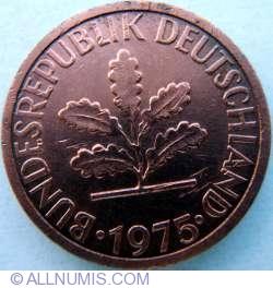 Image #2 of 1 Pfennig 1975 F