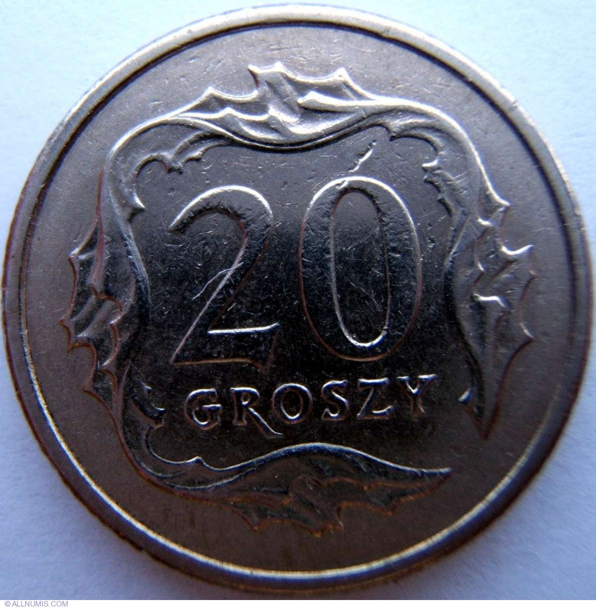 Groszy 1991 new pence