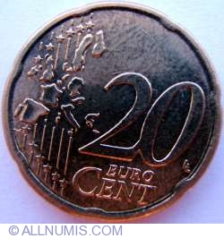 Imaginea #1 a 20 Euro Centi 2002