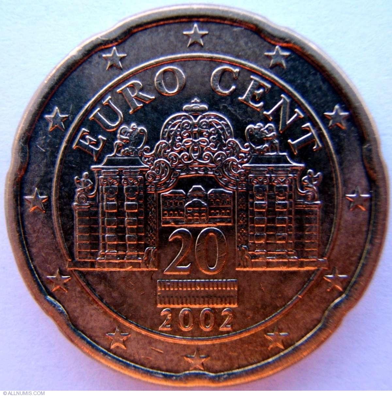 20 cent euro coin 2002