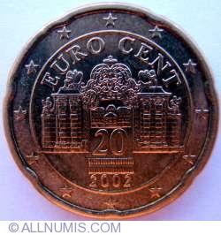 Imaginea #2 a 20 Euro Centi 2002