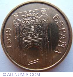 Image #2 of 5 Pesetas 1999