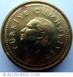 Image #2 of 5000 Lira 1997