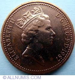 Image #2 of 1 Penny 1987