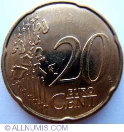 Imaginea #1 a 20 Euro Cent 1999