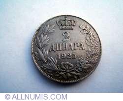 2 Dinara 1925 P