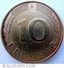 Image #1 of 10 Pfennig 1972 D
