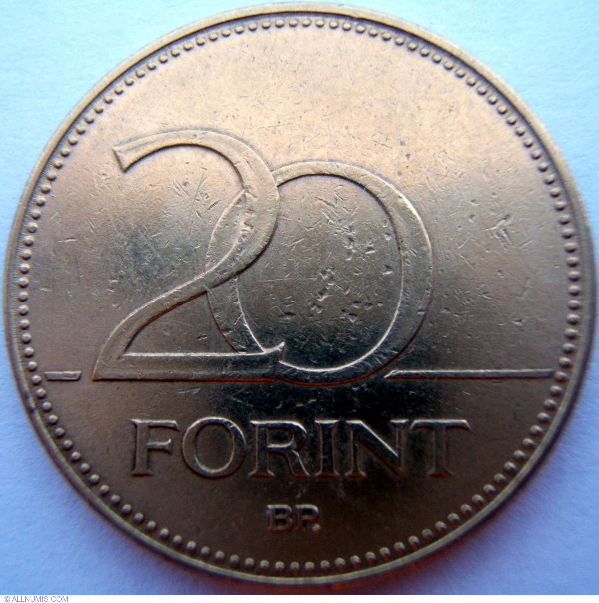 forint coin value