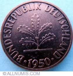 Image #2 of 1 Pfennig 1950 F