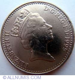 10 Pence 1995