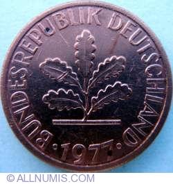 Image #2 of 1 Pfennig 1977 G