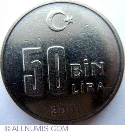 Image #1 of 50000 Lira 2001