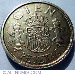 Image #1 of 100 Pesetas 1984 M