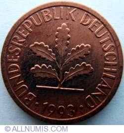 Image #2 of 1 Pfennig 1993 J