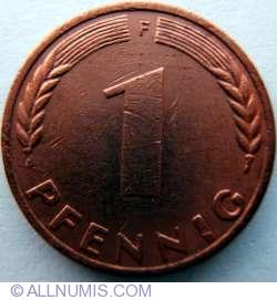 Image #1 of 1 Pfennig 1970 F
