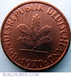 Image #2 of 1 Pfennig 1970 F