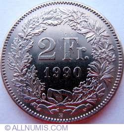 Image #1 of 2 Francs 1990